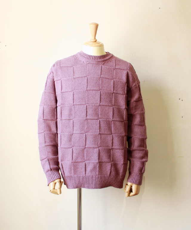 crepuscule LINKS KNIT P/O purple