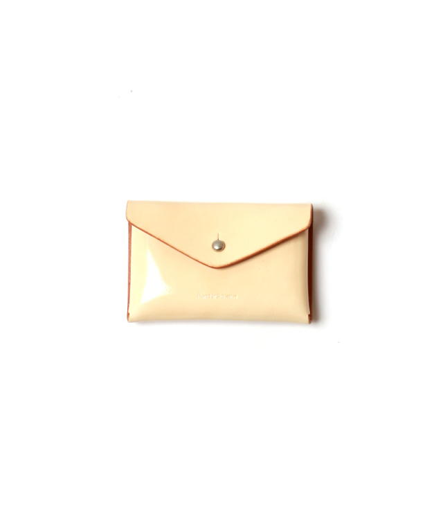 Hender Scheme ONE PIECE CARD CASE patent natural