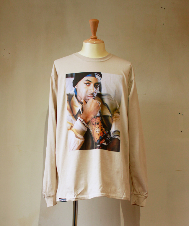 OFF SAFETY RULE THE WORLD L/S T-SHIRT sand