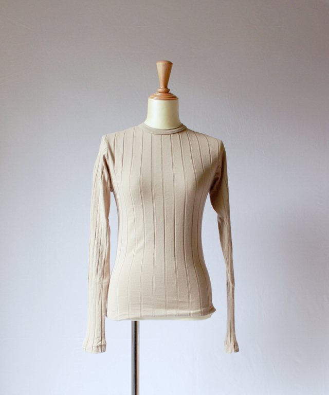 YOUNG & OLSEN BROAD RIB BACKLACE LS marfa