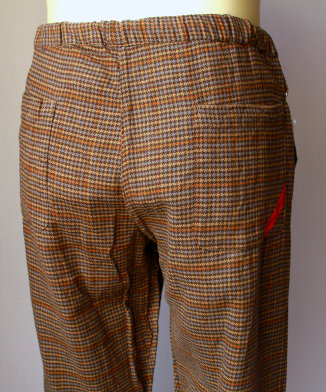 PHINGERIN NIGHT PANTS SVL brown check