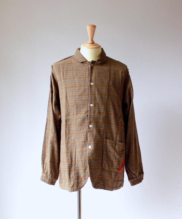 PHINGERIN NIGHT SHIRT SVL brown check