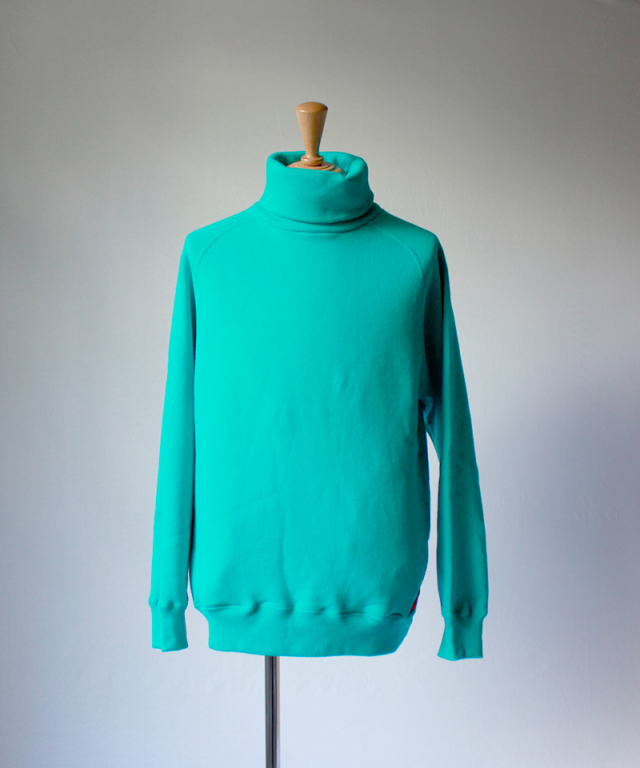 PHINGERIN TURTLE NECK SWEAT turquoise