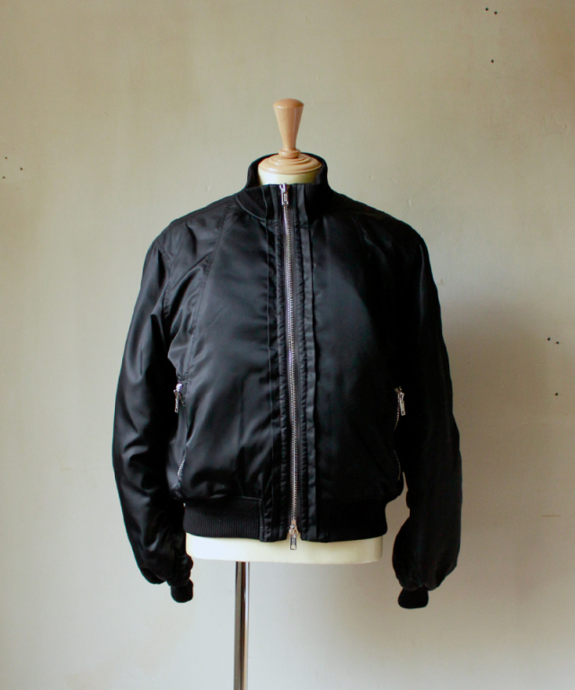 3.1 Phillip Lim MA BOMBER W SHERPA LINER FACING black