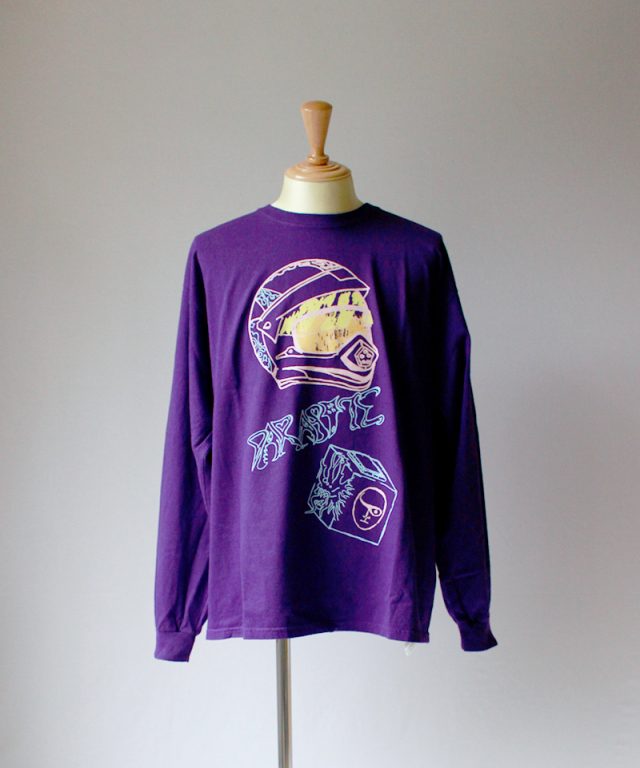 BRAIN-DEAD PARASITE LONG SLEEVE purple