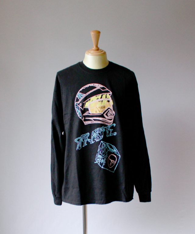 BRAIN-DEAD PARASITE LONG SLEEVE black
