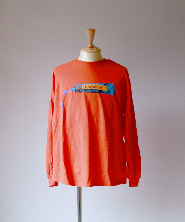 BRAIN-DEAD OOZE LONG SLEEVE emergecy orange