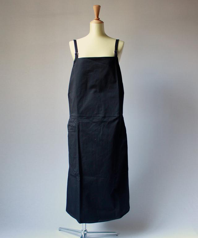 BASERANGE Overall Dress Black