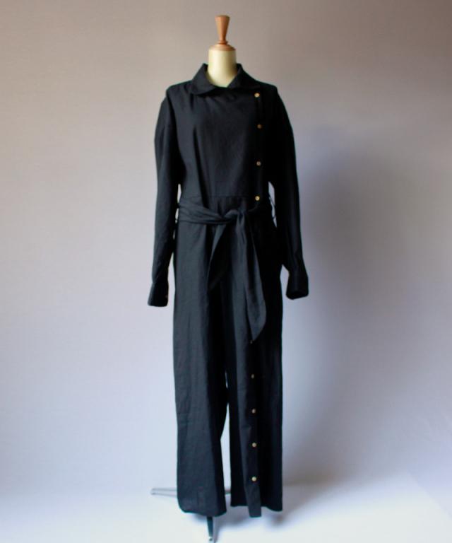 BASERANGE Aorta Jumpsuit Black