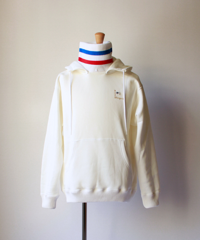 PHINGERIN TAGGED RIB PARKA white