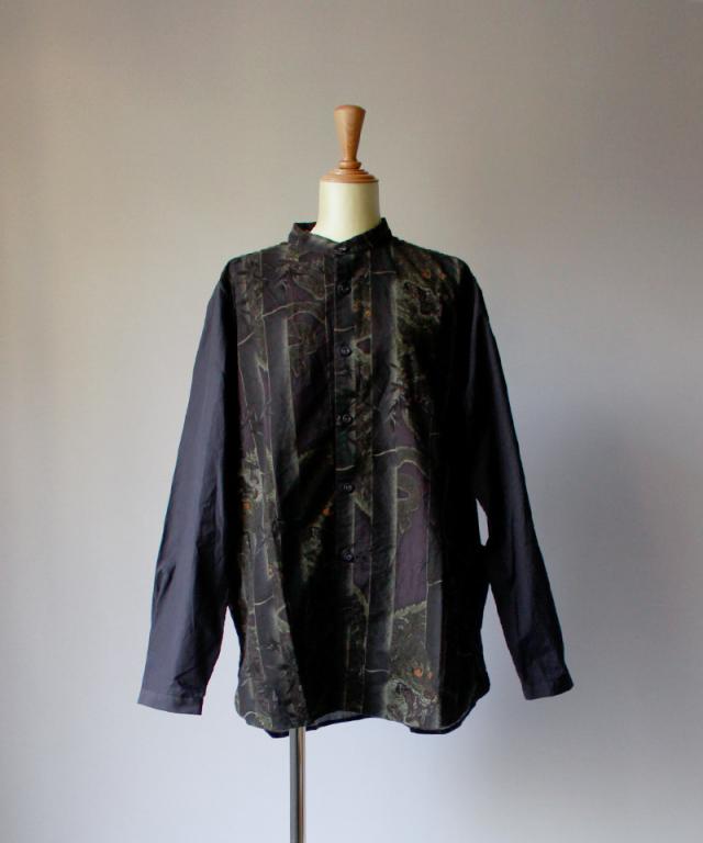 BRU NA BOINNE タケトラスタンドシャツ black