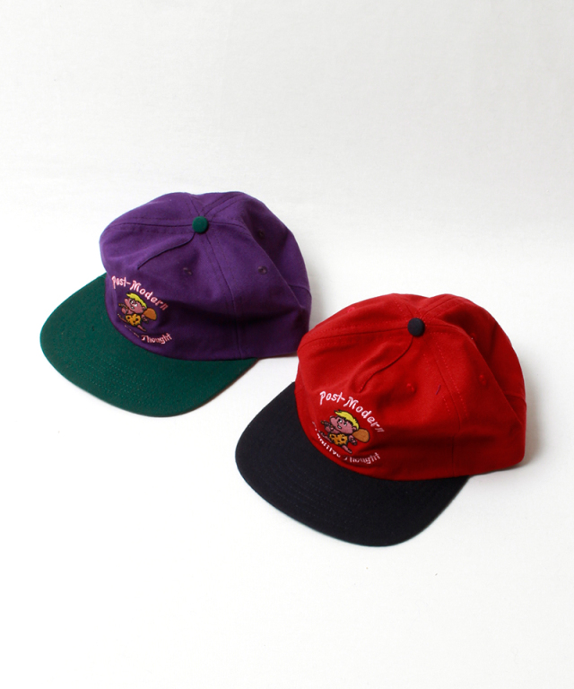 BRAIN-DEAD CAVE MAN 5 PANEL purple/forest