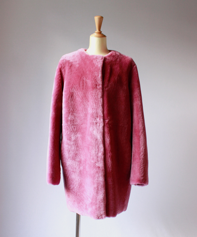 ANNE VEST ASSIA JACKET dark pink