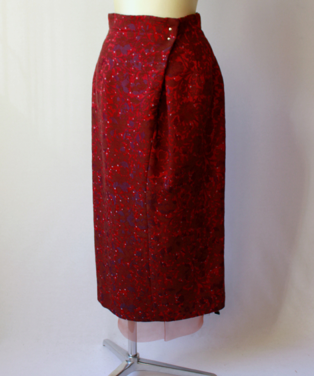 ponti SKIRT bordeaux