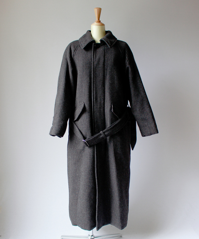 ponti LONG COAT glen check
