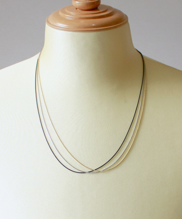 FANTASTIC MAN NECKLACE CHAIN C-061L gold