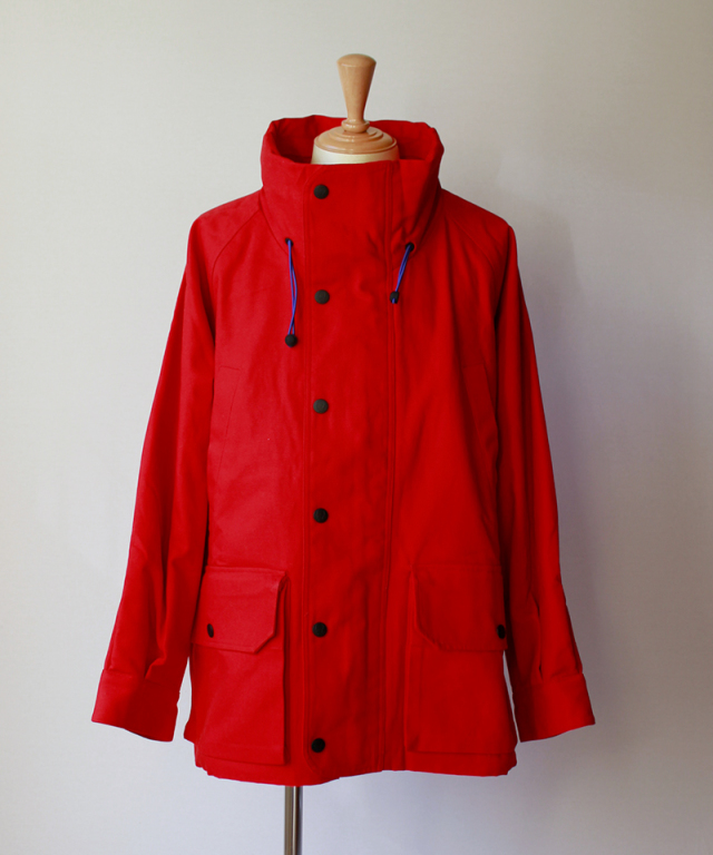 BRAIN-DEAD REPELLENT PARKA red