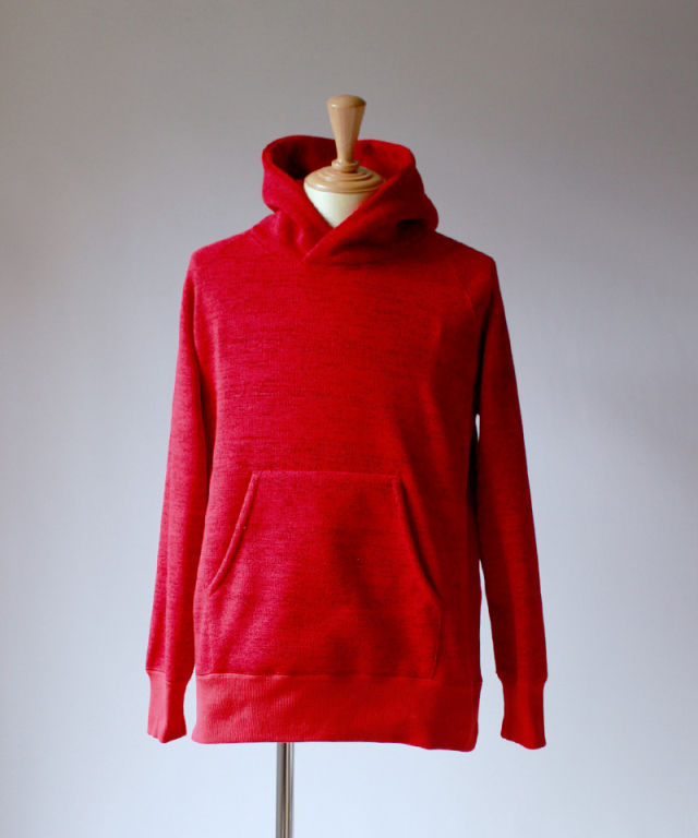 CURLY BRIGHT PO PARKA red