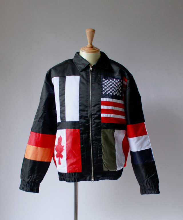 Chinatown Market FLAG JACKET black