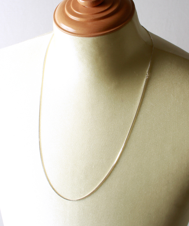 FANTASTIC MAN NECKLACE CHAIN Venetian 70 silver