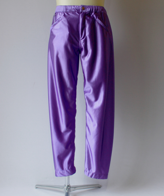 PHINGERIN M.N.P PANTS SATIN purple