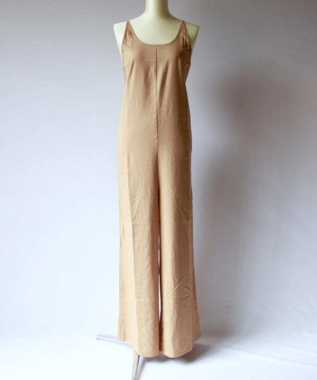 BASERANGE OTAY JUMPSUITS bath brown