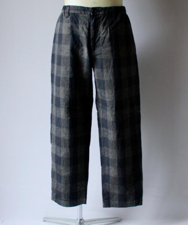 KUON 1901P03 PANTS C : check