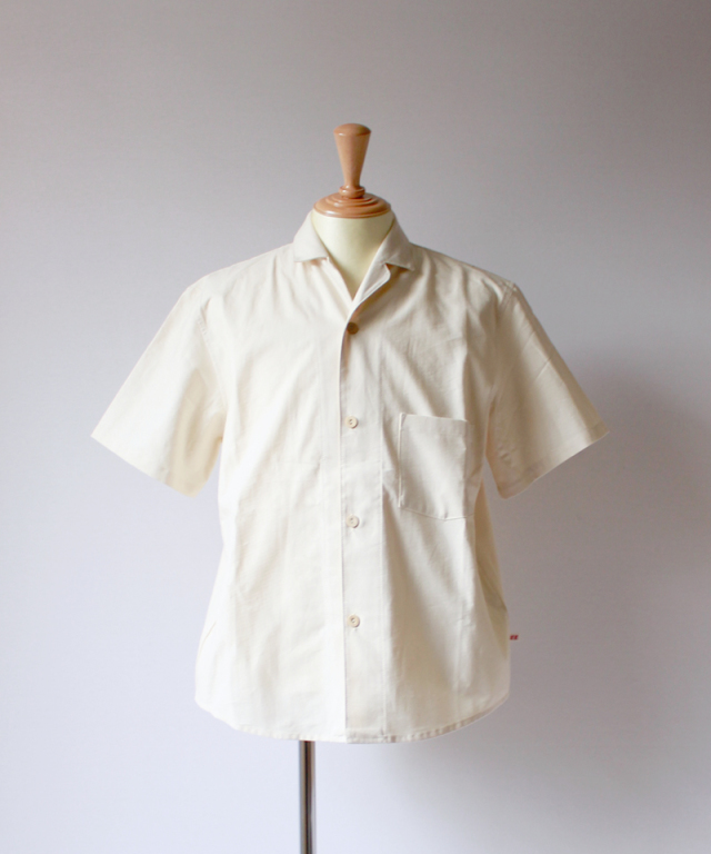 FRANK LEDER SPECIAL SEASON BS HAWAII SHIRT offwhite