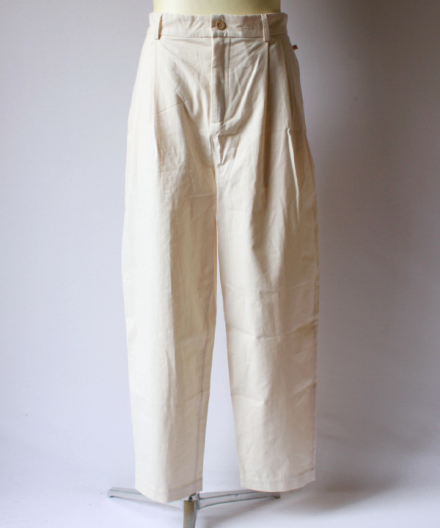 FRANK LEDER SPECIAL SEASON BS TROUSERS offwhite
