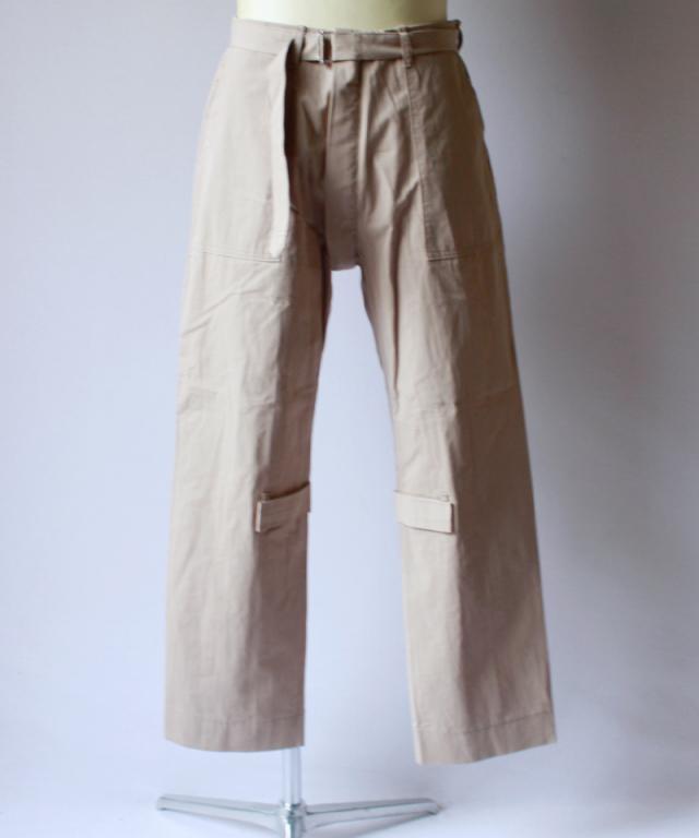 PHINGERIN BONTAGE PANTS sand beige