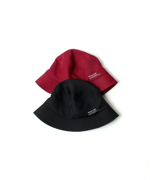 PORTVEL BUCJKET HAT black