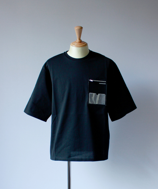 PORTVEL ID POCKET TEE 19SSver. black