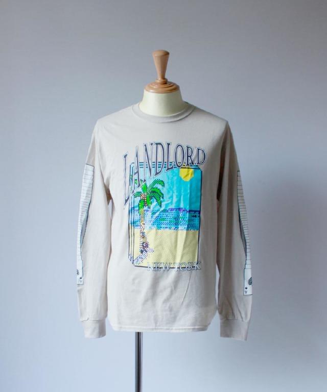 LANDLORD PATIENCE T-SHIRT beige