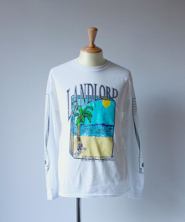 LANDLORD PATIENCE T-SHIRT white