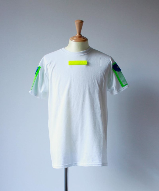 LANDLORD CYBEMETIC T-SHIRT 1 white