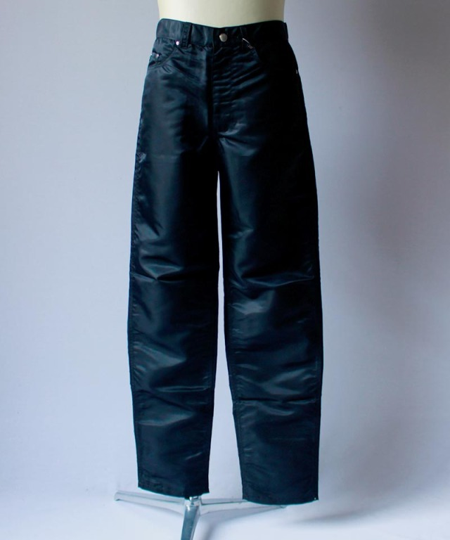 LANDLORD LL NYLON DENIM PANTS black