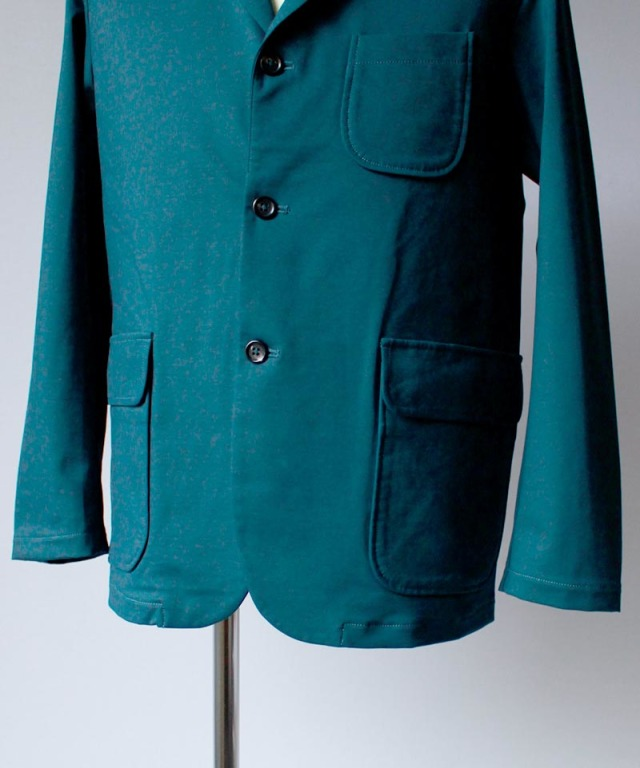 CURLY BLEECKER JACKET ink green