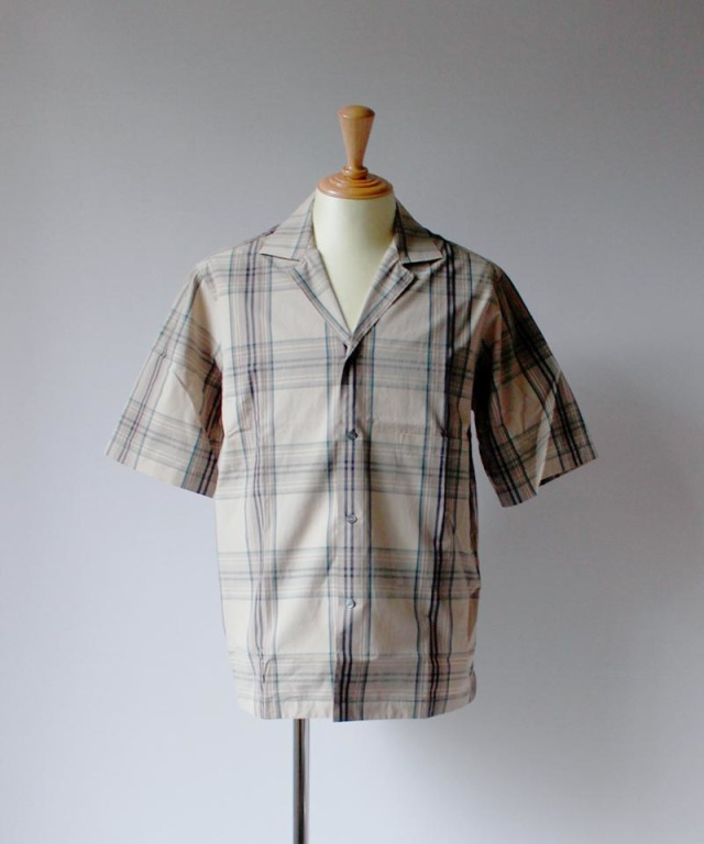 STUDIO NICHOLSON COCKLE khaki check