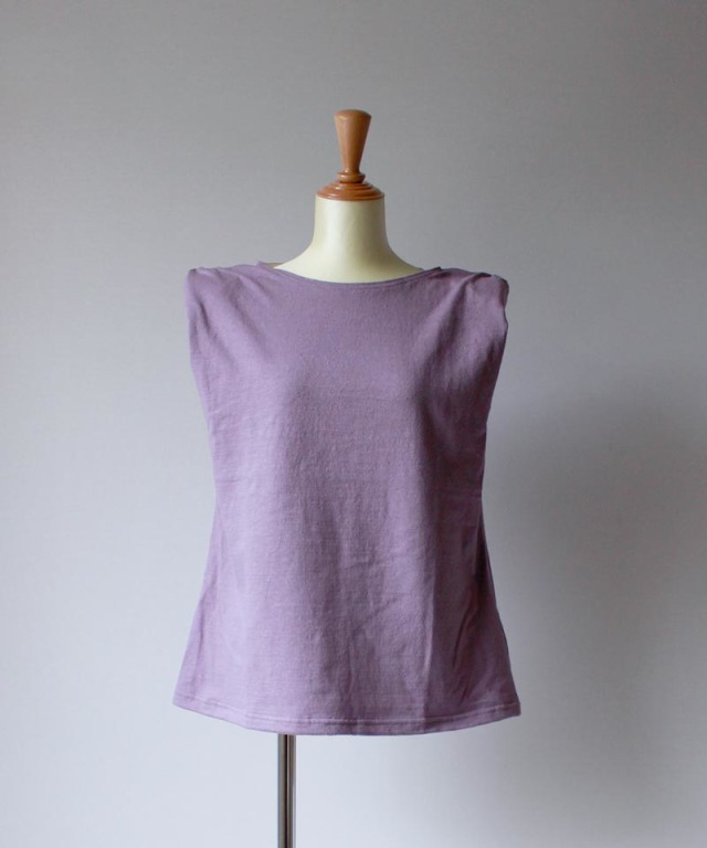 Uhr POWER-SHOULDER T-SHIRTS lavender