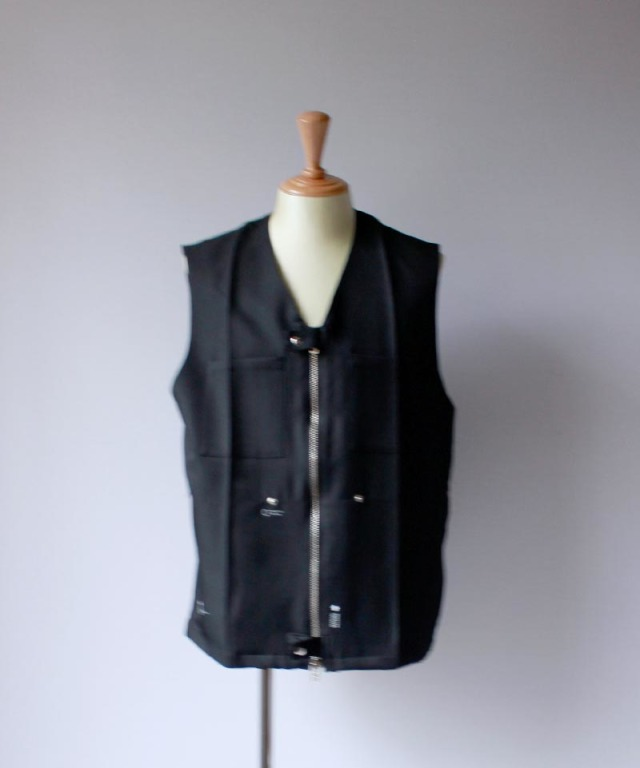 PORTVEL WORK VEST black