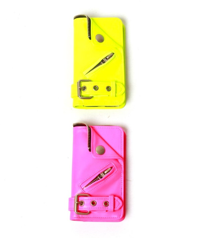 beautiful people NEON COLOR RIDERS iPhone CASE