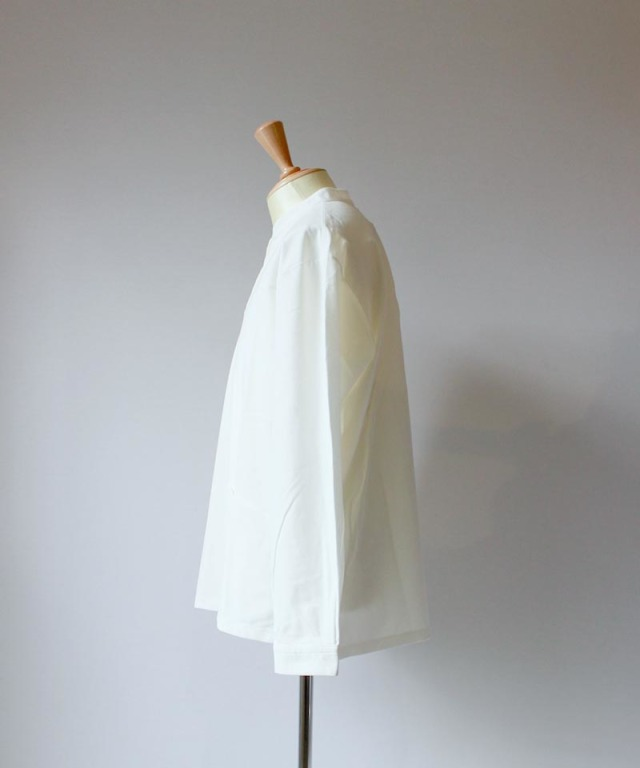 CURLY NOMADIC LS SMOCK SHIRTS white