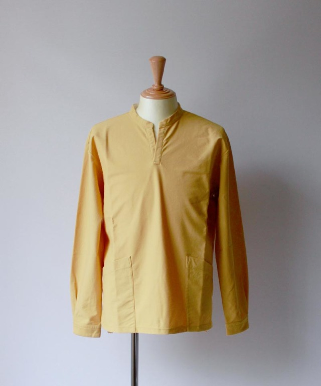 CURLY NOMADIC LS SMOCK SHIRTS yellow