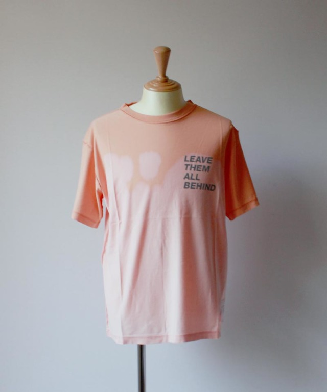 SATISFY REVERSE TEE bleach coral