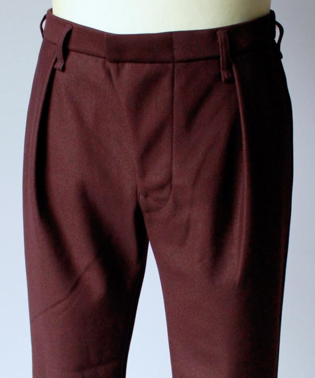 CURLY ADVANCE TP TROUSERS burgundy