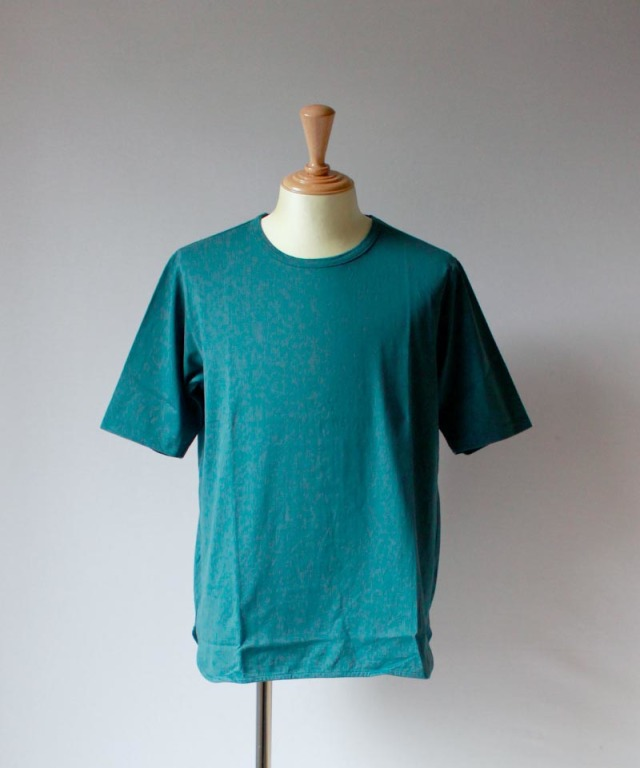 CURLY SDH HS CN TEE ink green