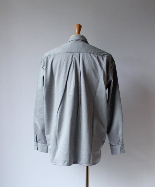 CURLY CLOUDY LS SHIRTS gray