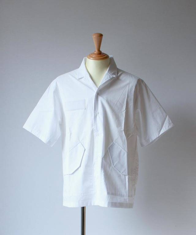 LANDLORD CWU-45 SHORT SLEEVE SHIRT white