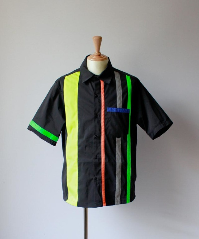 LANDLORD TEST SIGNAL SHORTSLEEVE SHIRT black