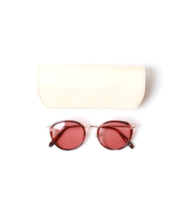 ponti SUNGLASSES red check